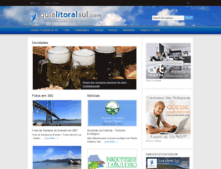 guialitoralsul.com screenshot