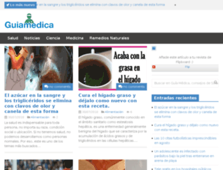 guiamedica.es screenshot