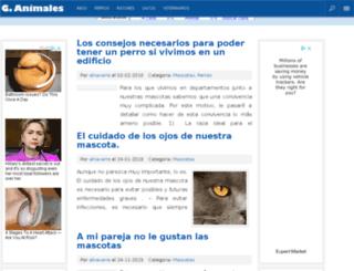 guiaparaanimales.com screenshot
