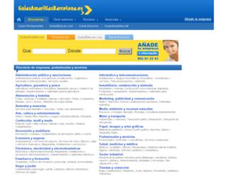 guiasamarillasbarcelona.com screenshot