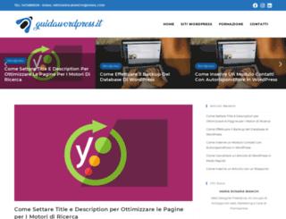 guidawordpress.it screenshot
