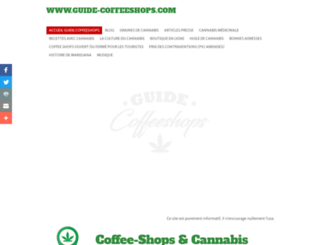 guide-coffeeshops.com screenshot