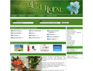 guide-floral.com screenshot