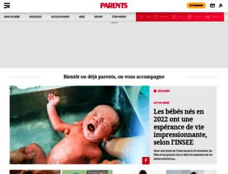 guide-produits.infobebes.com screenshot