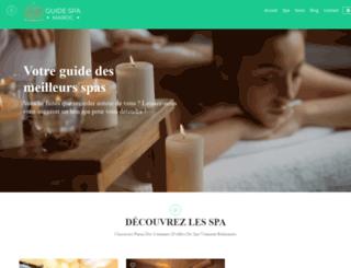guide-spa-maroc.com screenshot