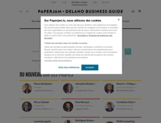 guide.paperjam.lu screenshot