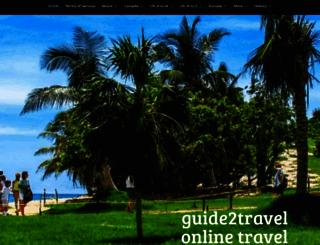 guide2travel.ca screenshot