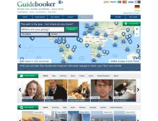guidebooker.com screenshot