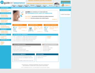 guidedelassurance.com screenshot