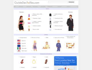 guidedestailles.com screenshot