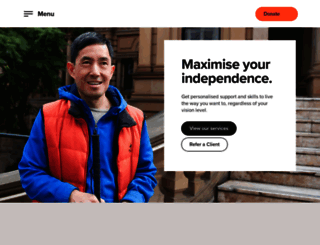 guidedogs.com.au screenshot
