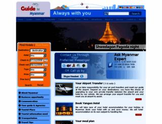 guideformyanmar.com screenshot