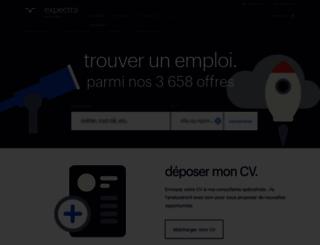 guidemetiers.expectra.fr screenshot