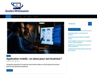 guides-webmaster.com screenshot