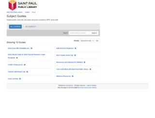 guides.sppl.org screenshot
