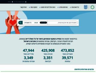 guidestar.org.il screenshot