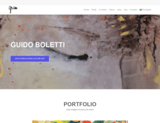 guidoboletti.net screenshot