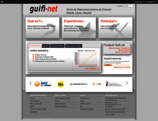 guifi.net screenshot
