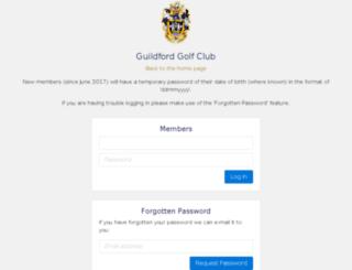 guildford.clubview.co.uk screenshot