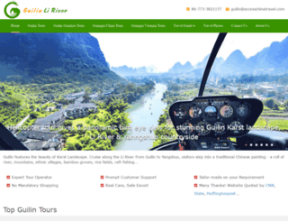 guilinliriver.com screenshot