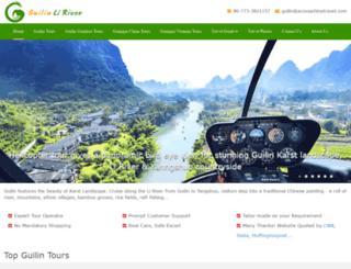guilinliriver.com screenshot