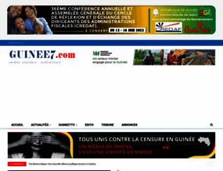 guinee7.com screenshot