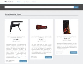 guitar24.de screenshot