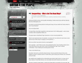 guitar4thepeople.wordpress.com screenshot