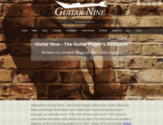 guitar9.com screenshot