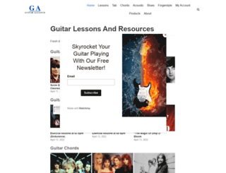 guitaralliance.com screenshot