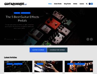 guitarchords247.com screenshot