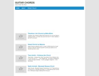 guitarchordsite.blogspot.com screenshot