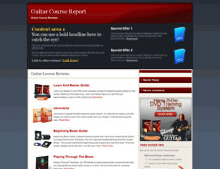 guitarcoursereport.com screenshot
