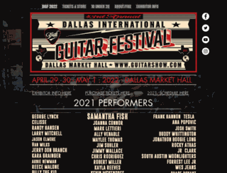 guitarshow.com screenshot