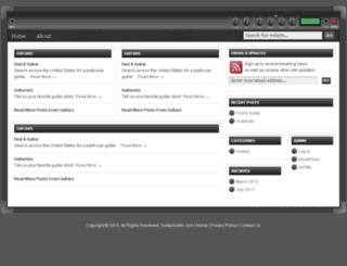 guitarsurfer.com screenshot
