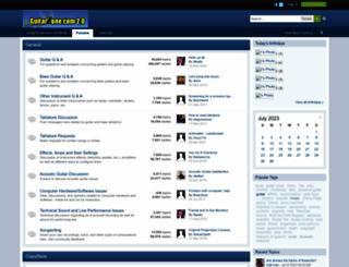 guitarzone.com screenshot