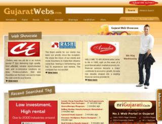 gujaratwebs.com screenshot