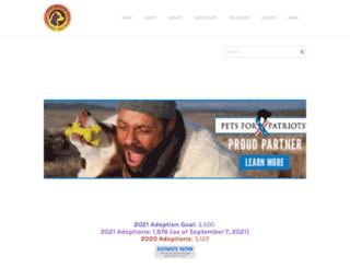 gulfcoasthumanesociety.org screenshot