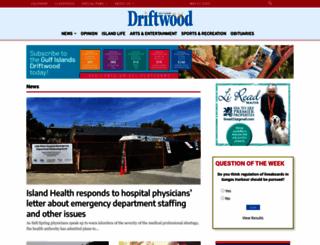 gulfislandsdriftwood.com screenshot