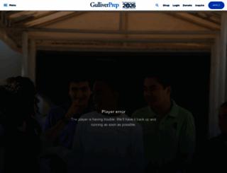 gulliverschools.org screenshot