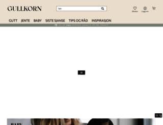 gullkorndesign.no screenshot