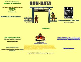 gun-data.com screenshot