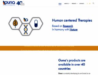 guna.com screenshot