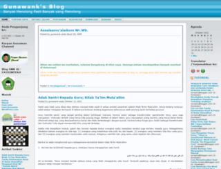 gunawank.wordpress.com screenshot