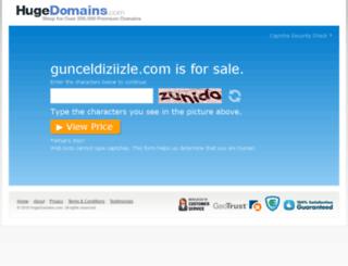 gunceldiziizle.com screenshot