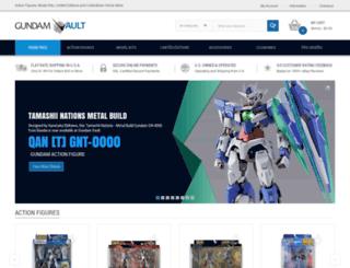 gundamvault.com screenshot