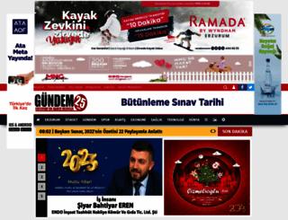 gundem25.com screenshot