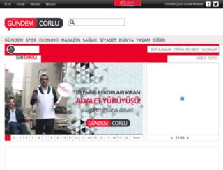 gundemcorlu.com screenshot