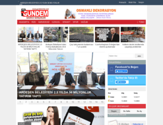 gundemrize.com screenshot