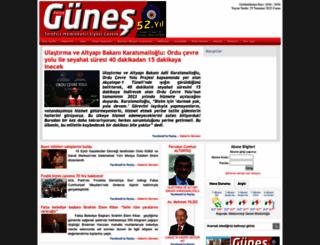 gunesgazetesi.net screenshot